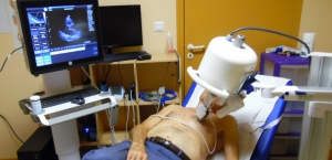 1er test d'exploration cardiaque par télé-échographie